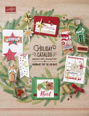 2016 Stampin' Up! Holiday Catalog